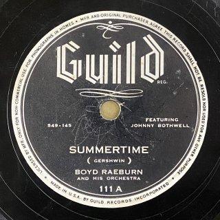 ボイド・レイバーン(ss,bs): SUMMERTIME / MARCH OF THE BOYDS