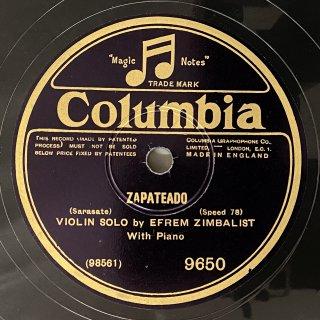 エフレム・ジンバリスト(Vn):スペイン舞曲第6番op.23-2「サパテアード」(サラサーテ)/愛の悲しみ(クライスラー)