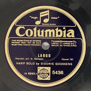 シドニー・グーセンス(hp):ラルゴ「オンブラ・マイ・フ」(ヘンデル)/ヴォルガの舟唄(ケーネマン)