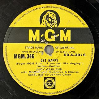ジュディ・ガーランド(vo): GET HAPPY / FRIENDLY STAR
