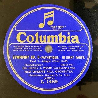ヘンリー・ウッド(cond): 交響曲第6番ロ短調op.74「悲愴 」(チャイコフスキー)