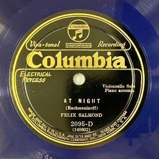 フェリックス・サルモンド(vc): 夜の静けさに(ラフマニノフ)/ ソナタ ト長調より「アレグロ」(G.B.サンマルティーニ)