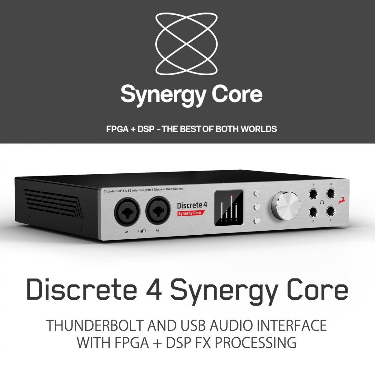 【到着は24日頃! 新キャンペーン スタート!】Antelope Audio Discrete 4 Synergy Core
