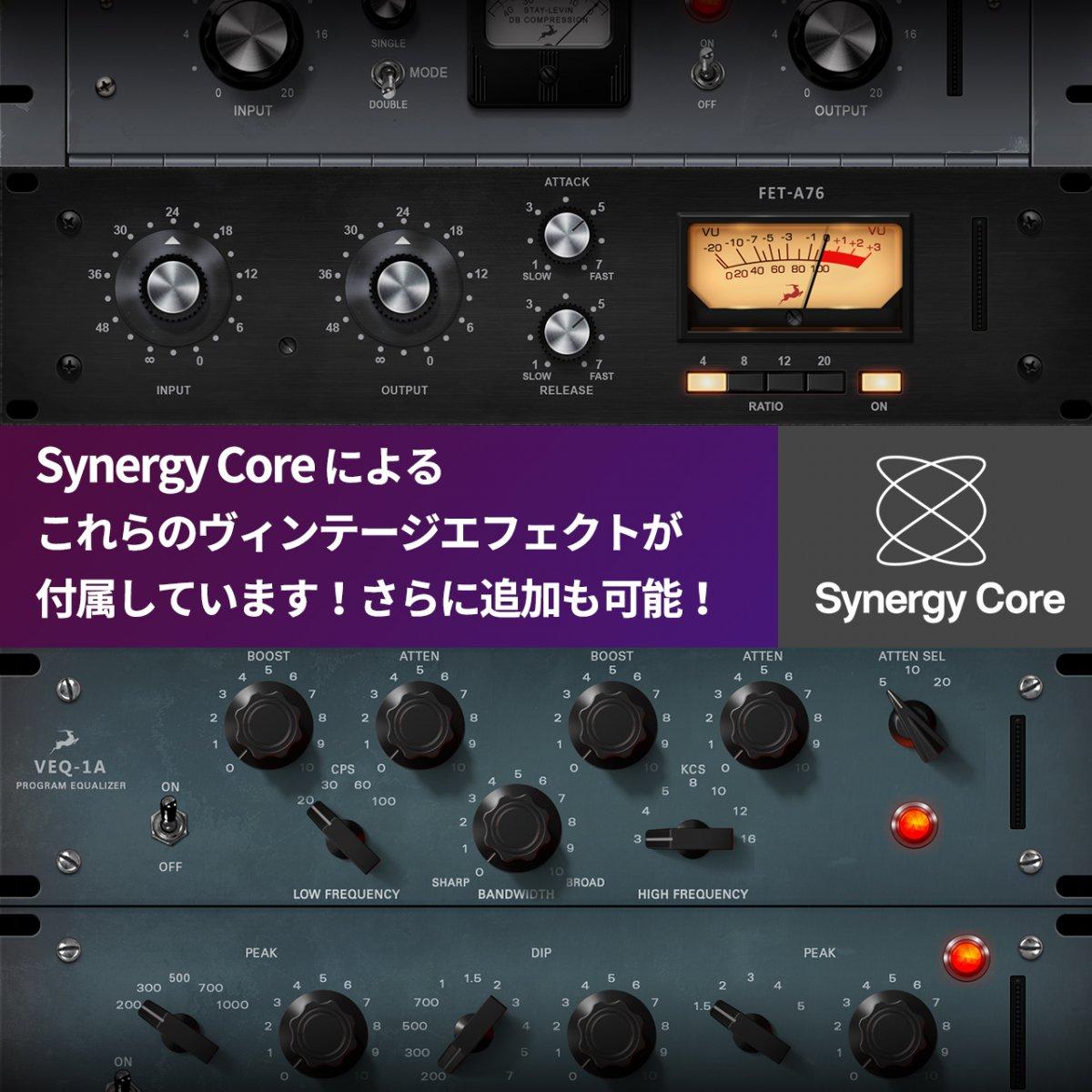 【あのキャンペーンが復活 即納!】Antelope Audio Discrete 8 Synergy Core