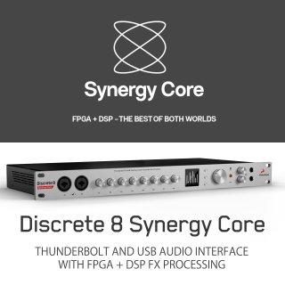 【新キャンペーン スタート! 即納! ハイパーDAC搭載】Antelope Audio Discrete 8 Synergy Core