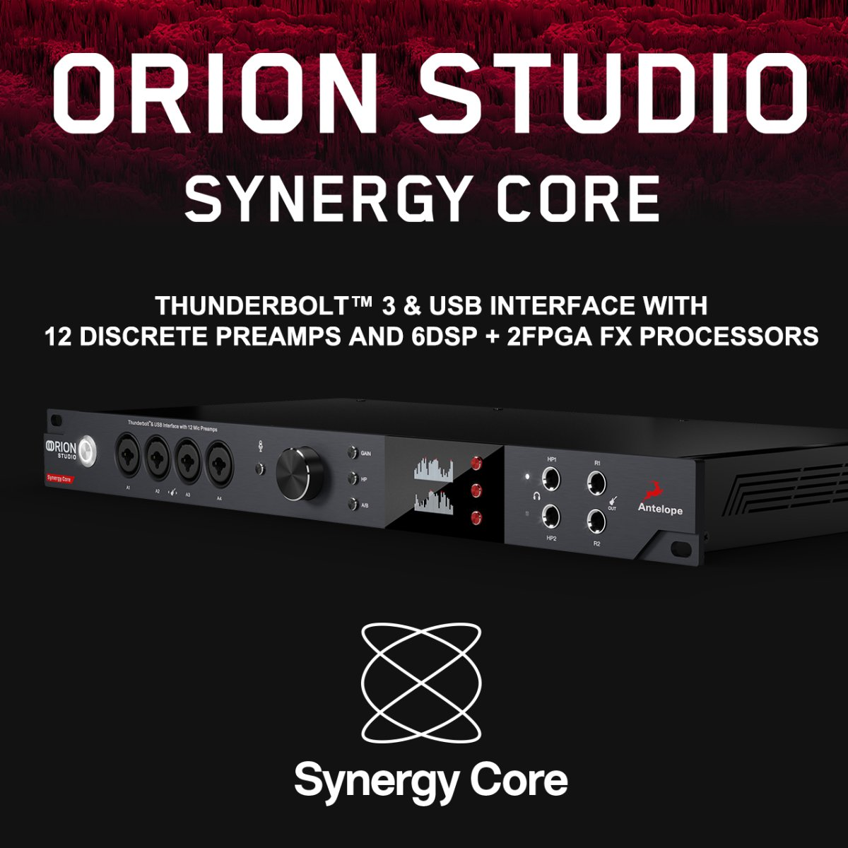 【キャンペーン復活! 】Antelope Audio Orion Studio Synergy Core