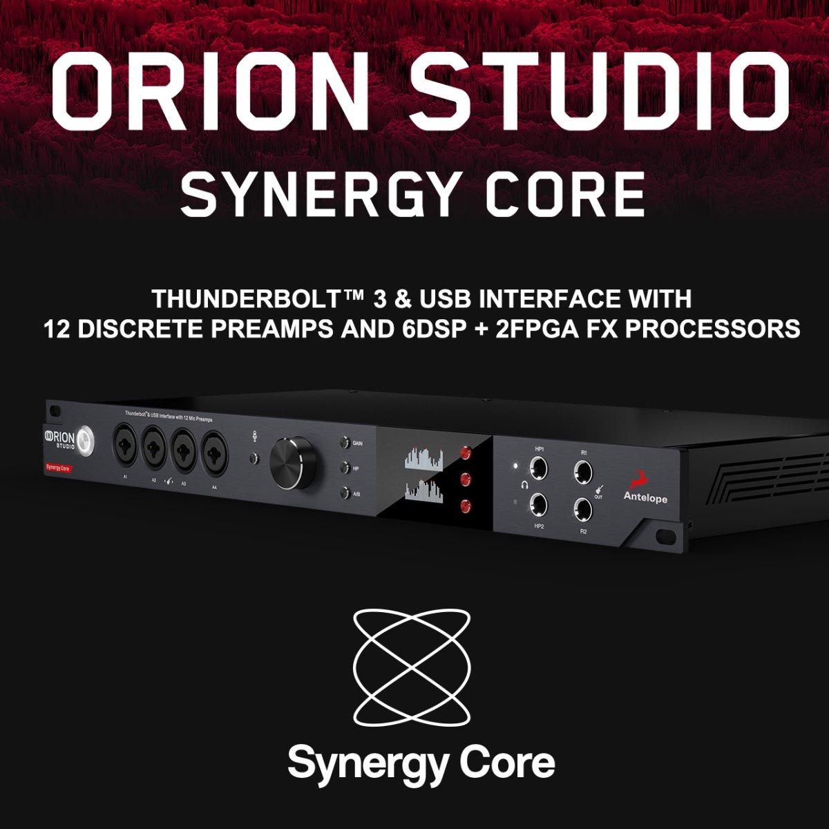 【またまた凄い 新キャンペーン開始! 入荷予定あり】Antelope Audio Orion Studio Synergy Core