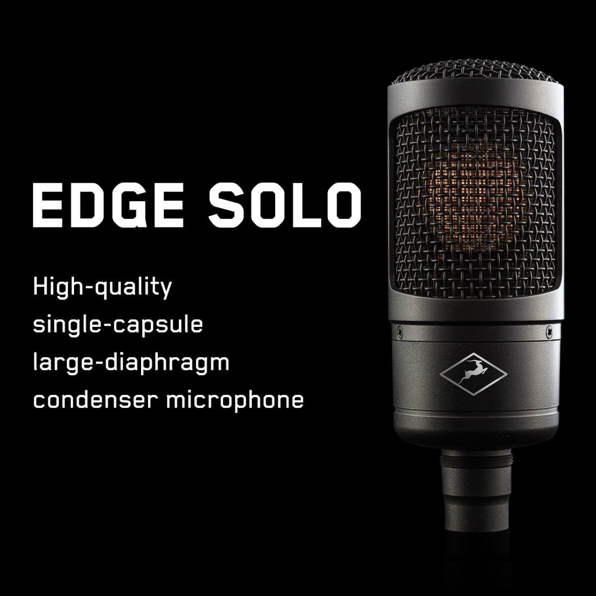 【お得! ナイスプライス 】Antelope Audio EDGE SOLO ラージダイアフラム コンデンサー マイクロフォン