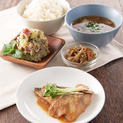合わせ味噌でまろやかサバの味噌煮(1食/55g)商品画像