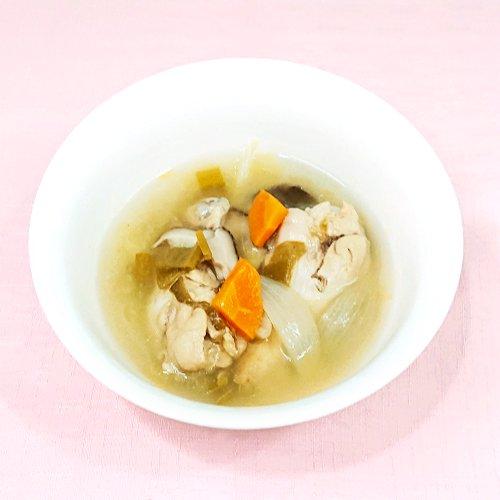 【ボーンブロス】無投薬・骨付き鶏の野菜スープ(250g)商品画像
