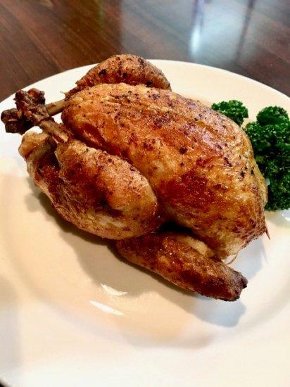 ビストロヒマワリのフランス産ひな鶏のロースト商品画像