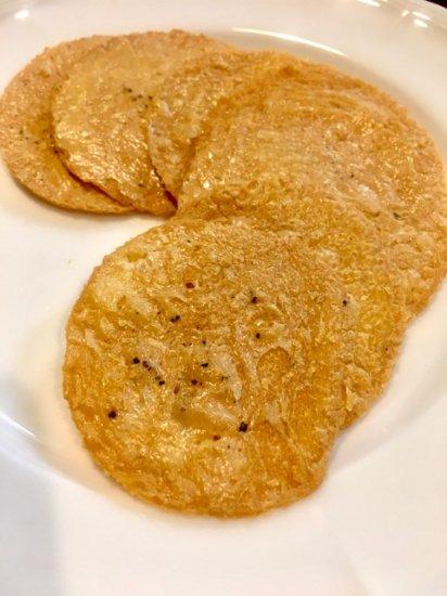 ビストロ ヒマワリのひよこ豆せんべい「ソッカ」ブラックペッパー 商品画像