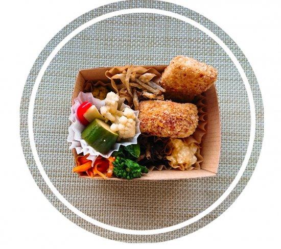 米粉パンのオープンサンドイッチ商品画像