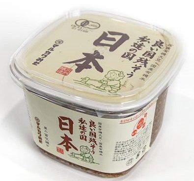 マルカワみその有機みそ「日本」(600g)商品画像