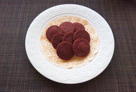 米ぬか入り米粉クッキー<ココア味>商品画像