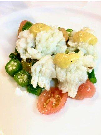 ビストロヒマワリの淡路産ハモのサラダ商品画像