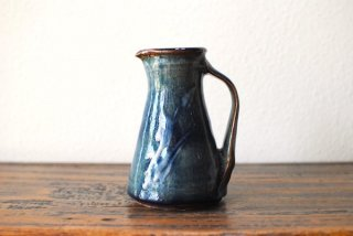 【森山窯】ピッチャー 小 いっちん 瑠璃釉