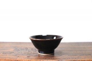 【出西窯】飯碗 小 黒釉