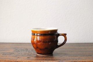 【出西窯】モーニングカップ 飴釉