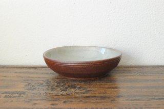 【森山窯】スープ鉢 白釉