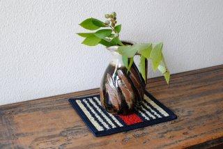 【倉敷緞通】花瓶敷きNo.2柄