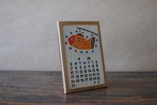 【送料¥198】2021日本の手仕事カレンダー(卓上型・単独購入)※日時指定不可