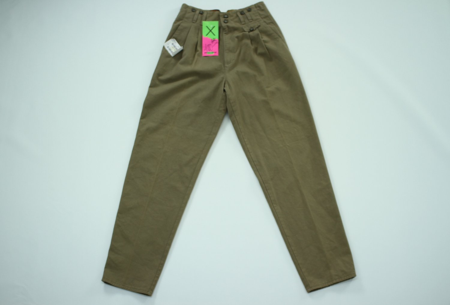PARIS 80s COTTON TROUSERS