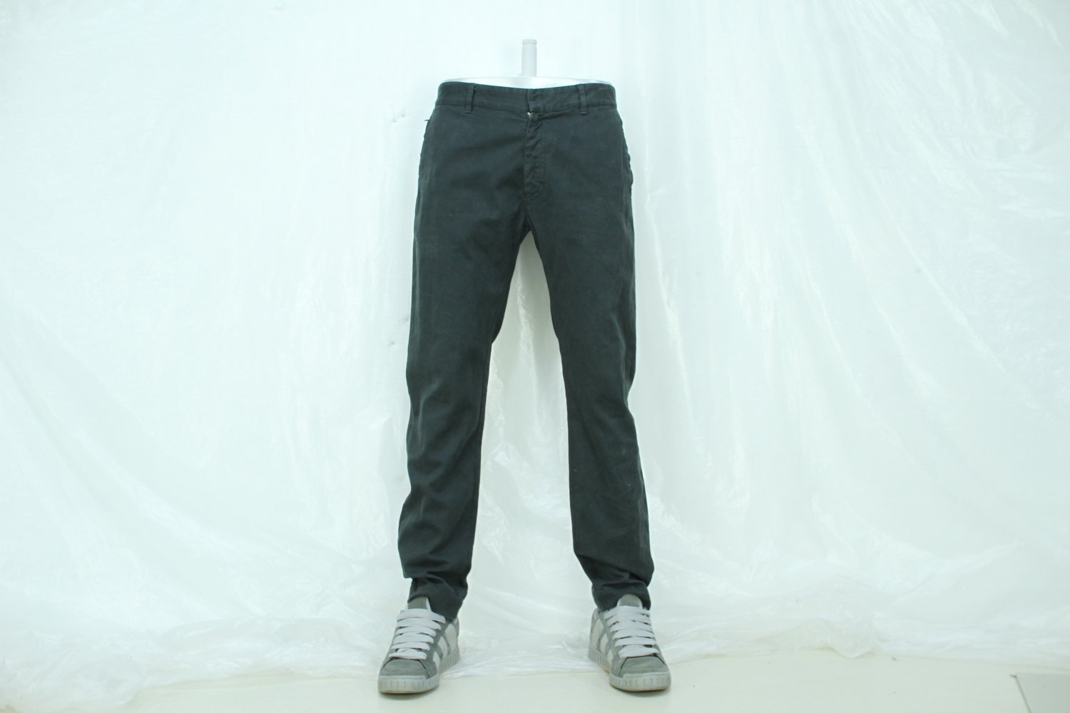 DUNHILL 00s COTTON WORK PANTS