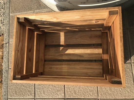 木製ボックス(ブラウン)【画像2】