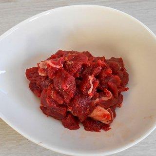 【国産無添加】国産馬肉 スタンダ−ドダイスカット 小分けパック 1kg【冷凍生肉 犬猫用】
