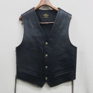ACE  SIZE:40 COW HIDE Vegetable tanned leather BLACK
