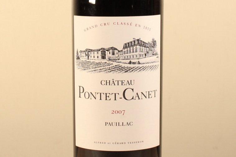 シャトー・ポンテカネCH.PONTET CANET 2007