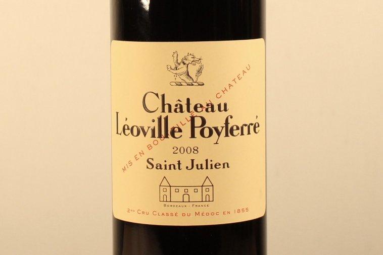 Ch Leoville Poyferre  シャトー・レオヴィル・ポワフェレ2008