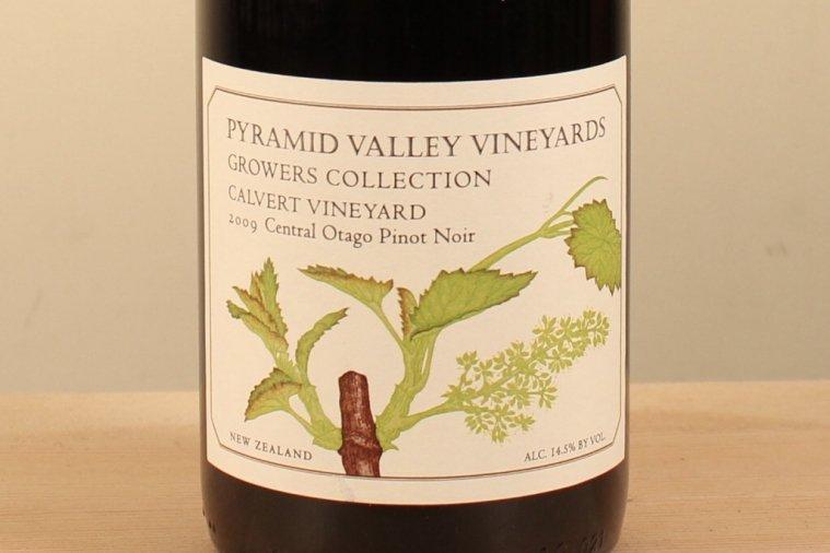 カルヴァート ヴィンヤード セントラルオタゴ ピノ ノワール Calvert Vineyard Central Otago Pinot Noir 2009