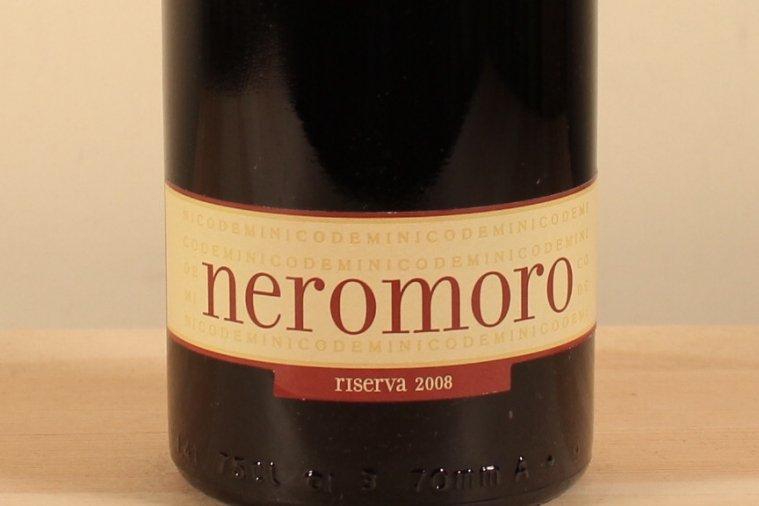 ニコデミ ネロモーロ・リゼルヴァ モンテプルチアーノダブルッツォ2008