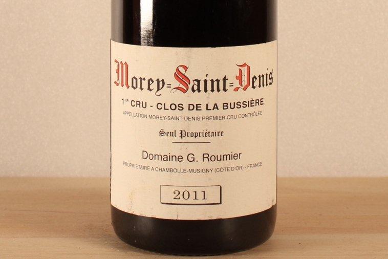 Morey St Denis Clos dela Bussierre [2011] モレ・サン・ドニ クロ・ド・ラ・ブシエール [2011]