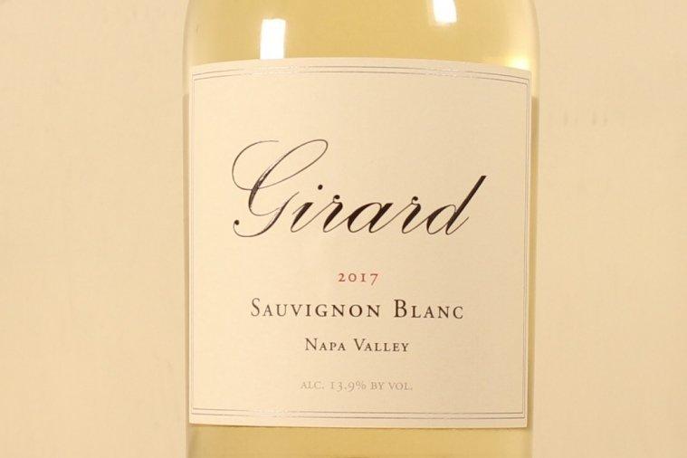 ジラード ソーヴィニョン・ブラン ナパ・ヴァレー Girard Sauvignon Blanc Napa Valley 2017