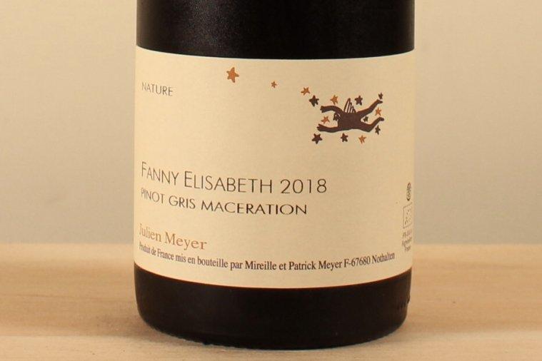 Pinot Gris Maceration Fanny Elisabeth ピノグリ マセラシオン ファニー エリザベス18