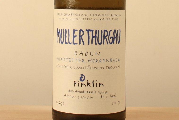 Müller-Thurgau trocken 2019  ミュラー=トゥルガウ トロッケン