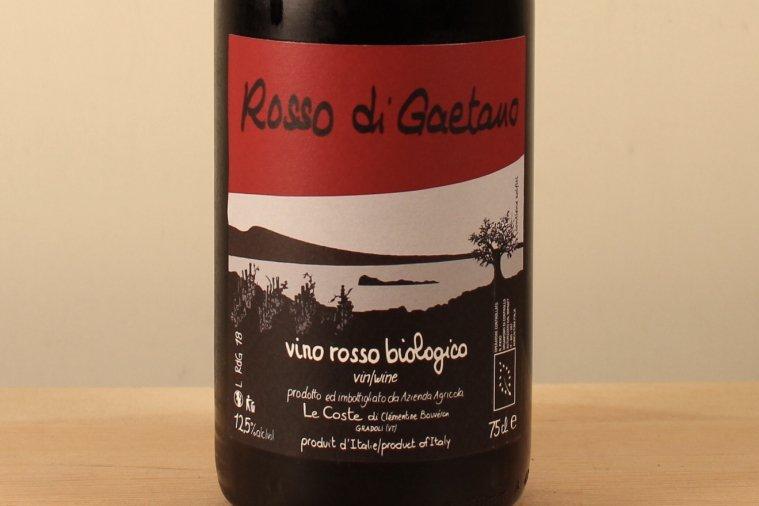Rosso di Gaetano ロッソ ディ ガエターノ2018