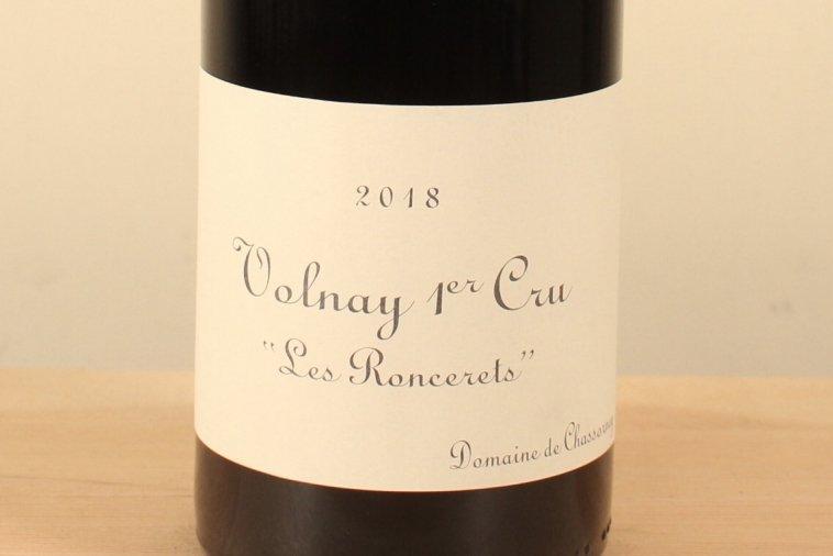 Volnay 1er Cru Rouge 2018 Les Roncerets ヴォルネイ1級 レ・ロンスレ(赤)