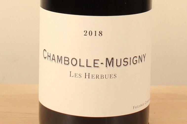 Chambolle Musigny 2018 Les Herbues シャンボール・ミュジニー レ・ゼルビュ(赤)