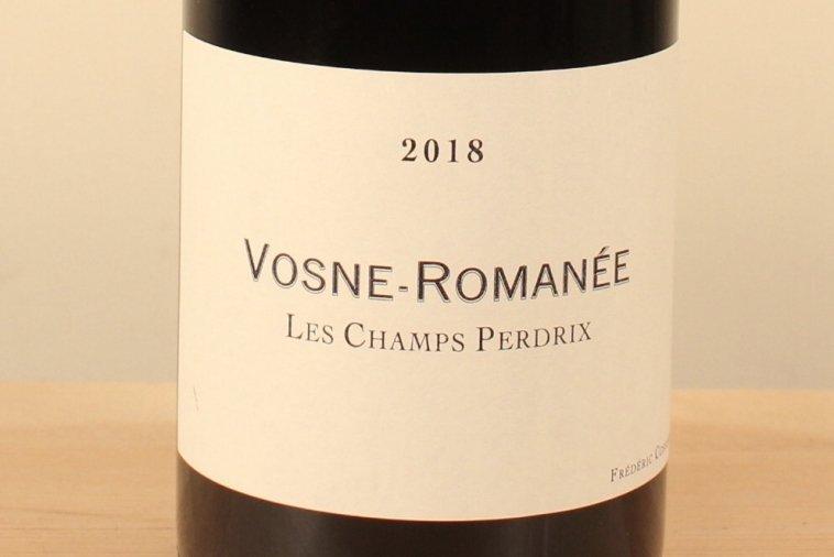 Vosne Romanée Rouge 2018 Les Champs Perdrix ヴォーヌ・ロマネ レ・シャン・ペルドリ(赤)