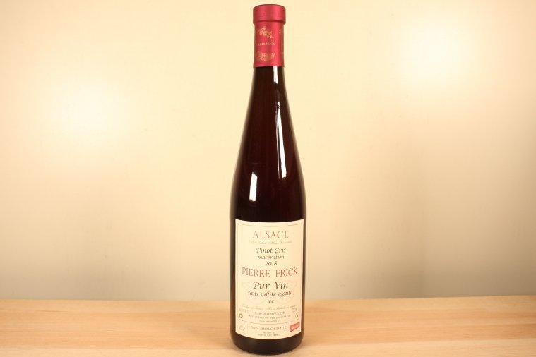 Pinot Gris Macération - sans sulfite ajouté ピノ・グリ マセラシオン サン・シュルフィト・アジュテ 2018