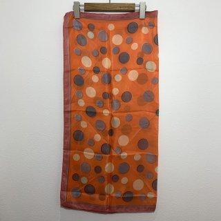 【VINTAGE ITEM】1970s VINTAGE SCARF ヴィンテージ スカーフ シルク ヨーロッパ