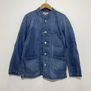 【ORDINARY FITS】 オーディナリーフィッツ OF-J018 DENIM COVERALL 2ND used