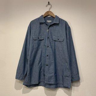【ORDINARYFITS】ENGINEERS SHIRTS エンジニアーズシャツ シャンブレーシャツ