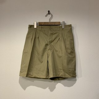 【MILITARY DEADSTOCK】FRENCH ARMY 2タックチノショーツ 『3』