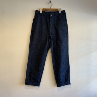 【SASSAFRAS】ササフラス Sprayer Stream Pants 4/5 INDIGO SF-201636