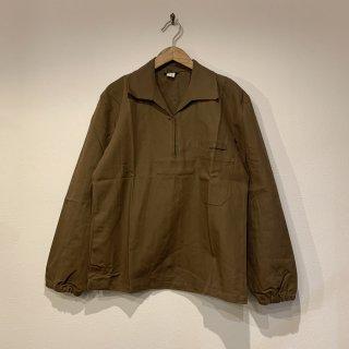 【MILITARY DEADSTOCK】チェコ軍 ヘリンボーン プルオーバーワークシャツ